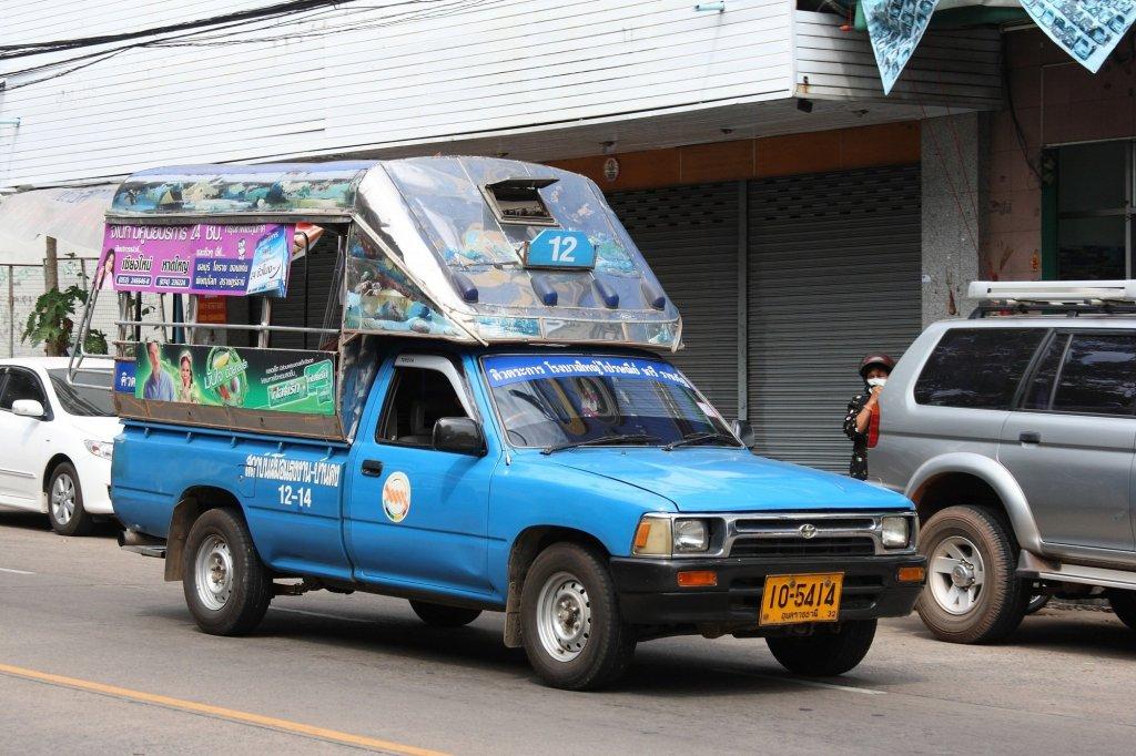 Blue Songthaew/Truck